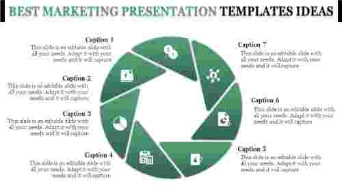 Best Marketing Presentation Templates Slide Model