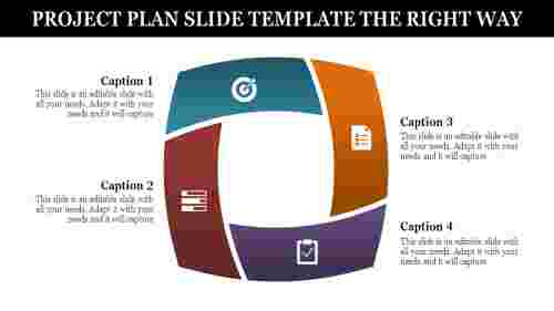 Process Project Plan Slide Template