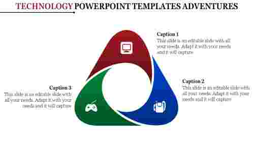 The Art Of Technology Powerpoint Templates