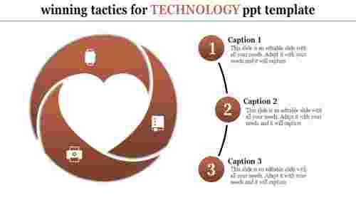 Technology PPT Template - Circular Loop