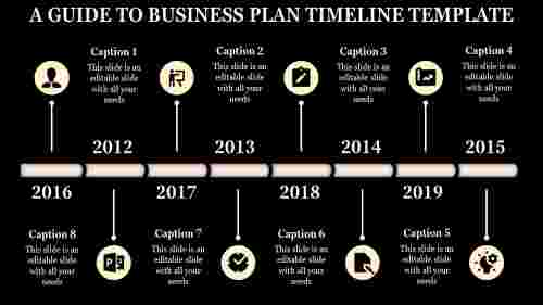 joined business plan timeline template