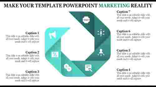 Infographic Template Powerpoint Marketing