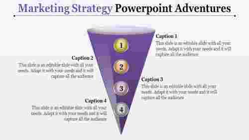 Infographicsmodelmarketingstrategypowerpoint-conemodel