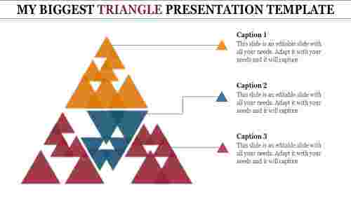 powerpoint template triangle
