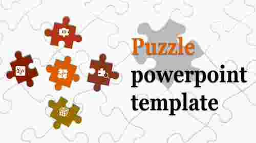 template puzzle powerpoint