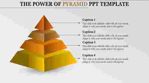 Segmented Pyramid PowerPoint Template