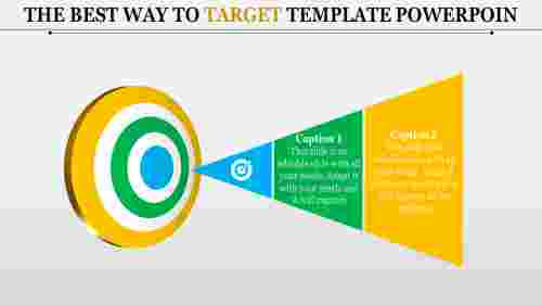 Target Template Powerpoint - 3D Shapes