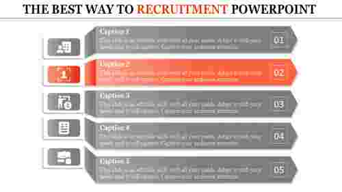 recruitment powerpoint presentation-THE BEST WAY TO RECRUITMENT POWERPOINT-orange