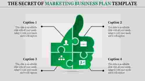 marketing business plan template-The Secret of MARKETING BUSINESS PLAN TEMPLATE-green