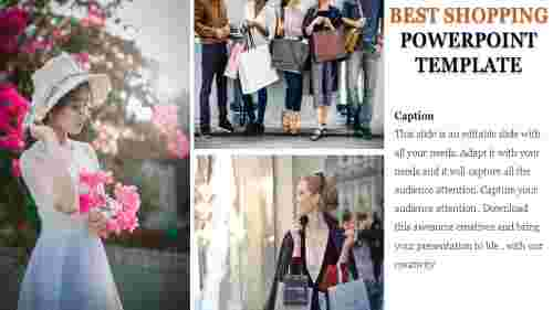 Shopping template-Best shopping powerpoint template