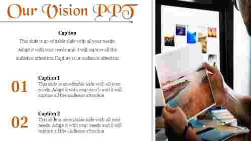 visionPPTtemplate
