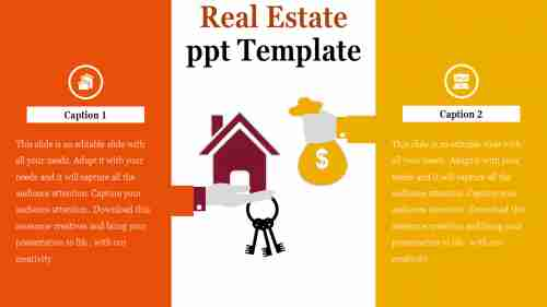 Uses of real estate investment powerpoint template