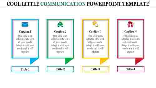 Fourlevelscommunicationpowerpointtemplate