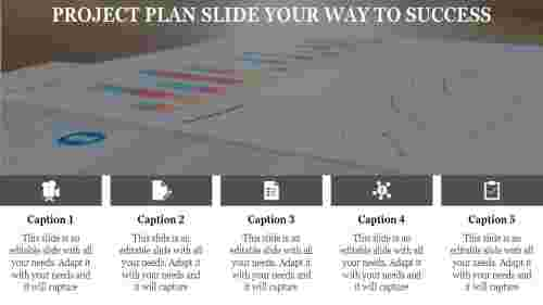 project plan slide-PROJECT PLAN SLIDE Your Way To Success