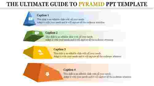 Divided Pyramid PowerPoint Template