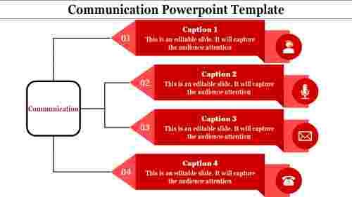 Swimlanes communication powerpoint template