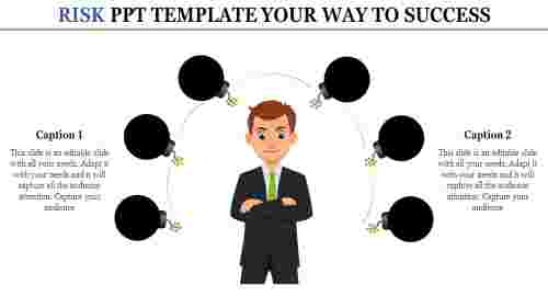 risk ppt template-RISK PPT TEMPLATE Your Way To Success
