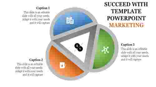 template powerpoint marketing