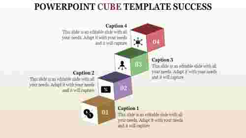 powerpoint cube template