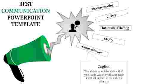 Communicationpowerpointtemplate-Speakerdiagrams
