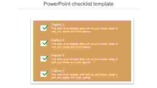 PowerPointchecklisttemplatepost-itnotemodel