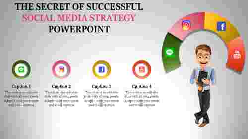 social media strategy powerpoint templ