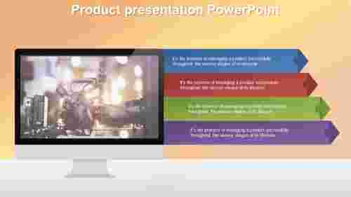 Best Product presentation powerpoint template