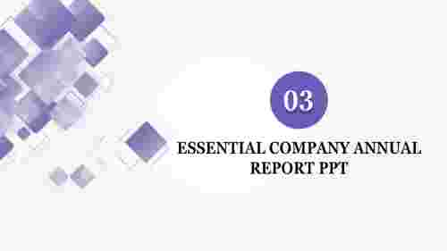 company annual report ppt-Essential COMPANY ANNUAL REPORT PPT-style 2