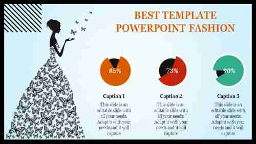 excellent template powerpoint fashion