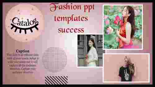 fashion powerpoint template for success
