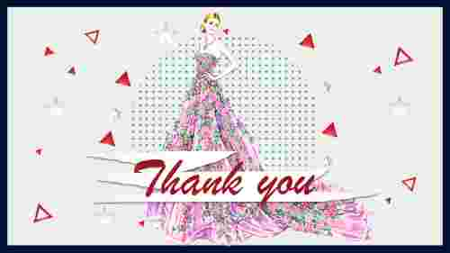 Thank you slide - fashion