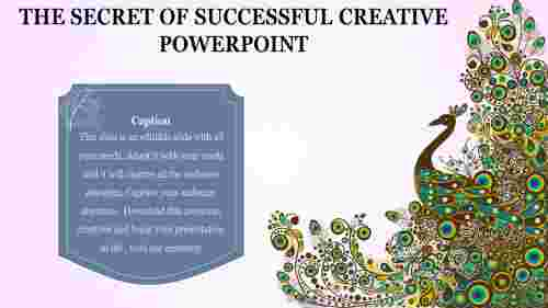 creative powerpoint presentation - graphical  model