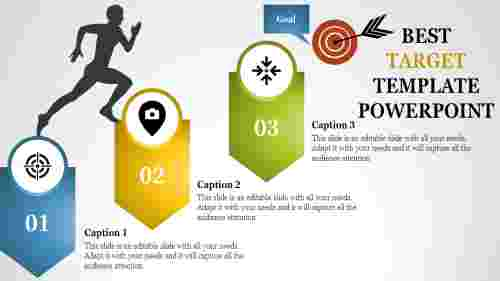 target template powerpoint for achieving the goal