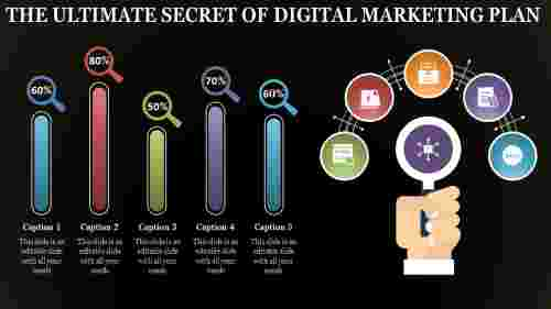 Digital%20Marketing%20Plan%20PPT%20With%20Dark%20Background