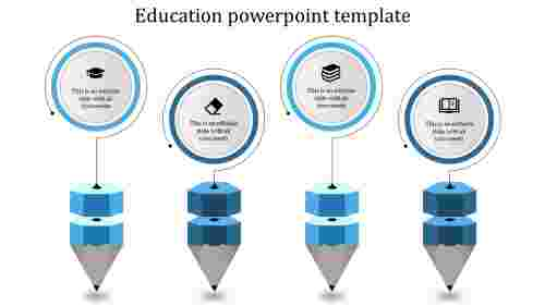 Simple best education powerpoint templates for business