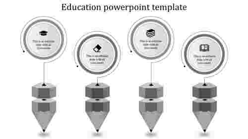 Best cool education powerpoint templates for presentation