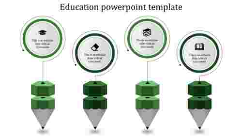 Quality education powerpoint templates for business