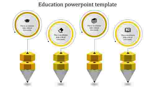 Simple growth education powerpoint templates