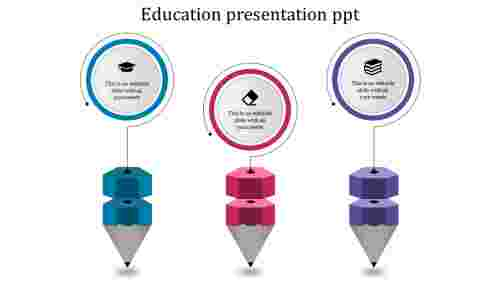 Bright education powerpoint templates for business