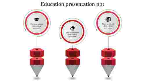 Excellent education powerpoint templates for presentation