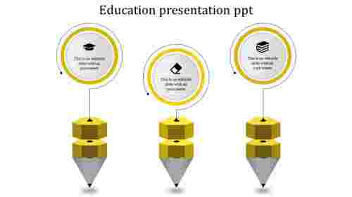 Creative education powerpoint templates for presentation