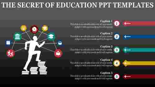 Targeting education PowerPoint templates