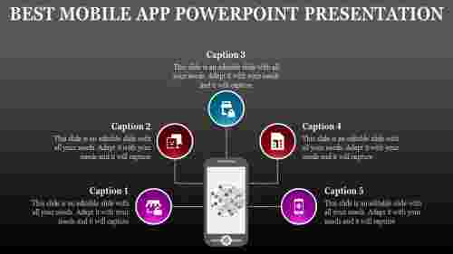 Technical mobile app powerpoint presentation