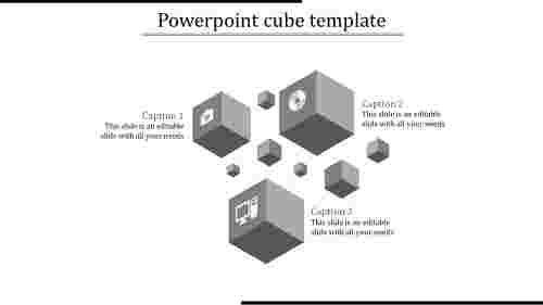 powerpoint cube template-powerpoint cube template-gray-3