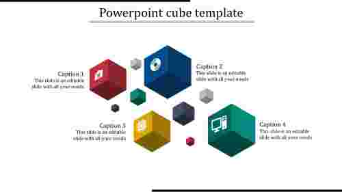 powerpoint cube template-powerpoint cube template