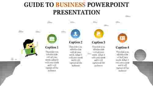 Flying business powerpoint presentation