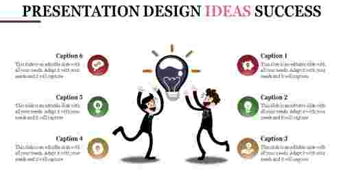 Bulb model presentation design ideas