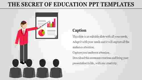 education ppt templates-The Secret Of EDUCATION PPT TEMPLATES