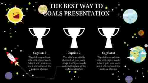 goals presentation template for success