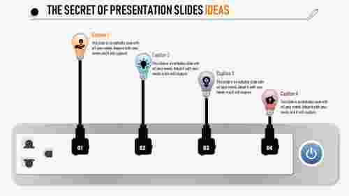 Bulb model presentation slides ideas